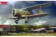 RODEN 442 1/48 Beechcraft UC-43 Staggerwing Beechcraft 17