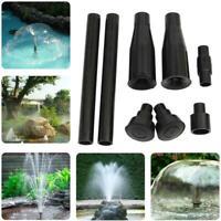 Sprühköpfe Wasserpumpe Garten Brunnen Teich Aquarium Wasseranzeige