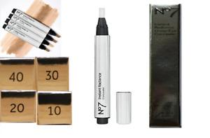No7 Instant Radiance Under Eye Concealer Hypo-Allergenic 2.5ml - New 4 Shades