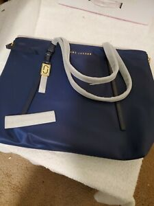 NWT Marc Jacobs Zip That Tote in Midnight Blue Free Shipping
