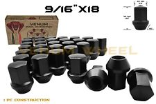 20 Mitsubish Raider 9/16 Black Factory Style Replacement Lug Nuts 2Day Shipping