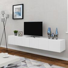 VICCO Lowboard CUMULUS 240cm - Sideboard Fernsehschrank TV Board Weiß matt