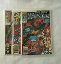 """LOT OF 3  """"THE NEW WARRIORS"""" COLLECTIBLE COMICS - RUN #7, #8, #9 - LOT 137 NM/M"""