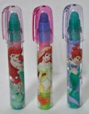 Disney Little Mermaid Ariel 3 Eraser Party Favors