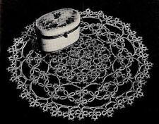 BABY DRESS KNIT Crochet Patterns Shell TAT DOILY Hairpin TABLE Bed POTHOLDER