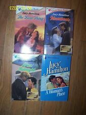 Lot 4 different Lucy Hamilton Books Soft great condition