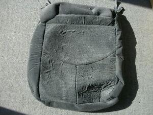 Mazda Tribute black cloth right rear seat bottom cover 2001-2004