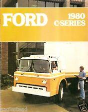 Truck Brochure - Ford - C-Series - Tilt Cabs  - 1980 (TB352)