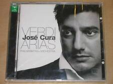 CD / JOSE CURA / VERDI / ARIAS / PHILHARMONIA ORCHESTRA / NEUF SOUS CELLO
