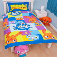 Moshi Monsters 'Boys' Single Rotary PolyCotton Duvet Cover New Gift