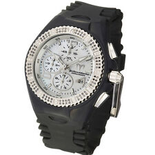 TechnoMarinE  Cruise GEM 108043 black / white diamond + band  Ret.$1995  NEW