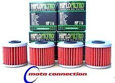 Montesa Cota 4rt ensayos 05-12 Hiflo Filtros De Aceite (paquete De 4) hf-116