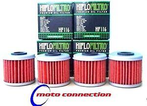 MONTESA COTA 4RT TRIALS 2005 - 2021 HIFLO OIL FILTERS  (PACK OF 4)     HF-116
