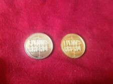 Tron Flynn'S Arcade Tokens Silver/Brass ElecTronica Disney California Adventure
