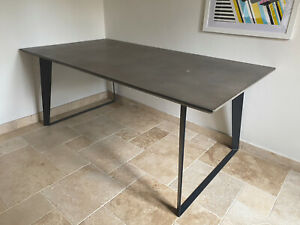 6 Seater Concrete dining table - MADE.COM