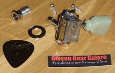Epiphone Les Paul Tuner Grover Deluxe Peg Nickel Guitar Parts ES Custom Tuning A