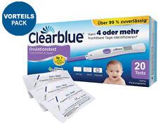 Clearblue Ovulationstest digital 2.0 20 Stk. Vorteilspack 10 Frühtests 10miu