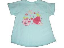 NEU Ergee süßes T-Shirt Gr. 86 hellblau mit witzigen Früchte Motiven !!