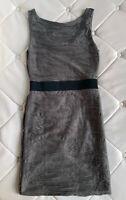 Sehr schönes Sommerkleid Stretch Gr. M grau-grün