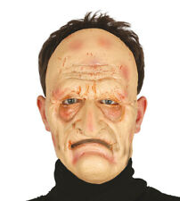 Realistic OLD Man Mask GRANDAD Male Disguise Halloween Fancy Dress FOAM Latex
