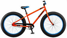 "26"" Mongoose Dozer Men's Fat Tire Bike, Orange"
