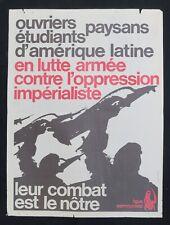 Supplément à ROUGE n°22 ANTI IMPÉRIALISME Ligue Communiste Krivine 1969