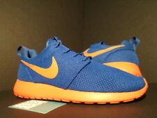 Nike ROSHE RUN ROSHERUN NEW YORK NY KNICKS ROYAL BLUE ORANGE VOLT 511881-483 10