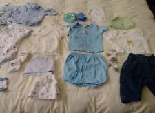 Baby Boy Newborn Disney and more  Clothes around 29 Pieces Lot pre owned