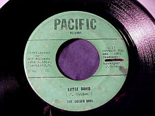RARE BLUES ROCKER SOUL GOSPEL 45 GOLDEN BROS Little David/I Believe PACIFIC Hear