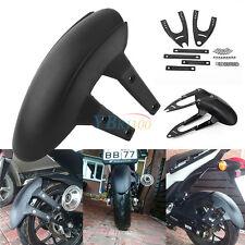 Garde-boue Passages de roue Pare Arrière Pour Moto Scooter Moins de 200CC Noir
