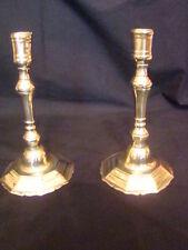 paire de bougeoirs en bronze massif époque 18éme (Louis XV)
