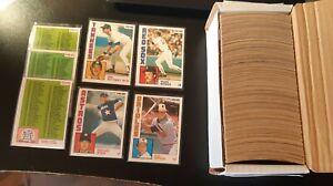 1984 O-PEE-CHEE BASEBALL SET NEAR MINT 393/396 CARDS OPC MATTINGLY RYAN BOGGS