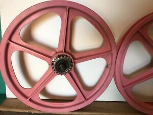 Skyway Tuff II Pink Mag Wheels BMX 80's (made in UK) rare