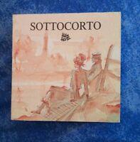 Sottocorto mini livre personnages de Corto Maltese Hugo Pratt de 6x6 cm 1987