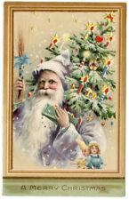 Santa Light Bluish/Purplish Hold to Light HTL Tree Decorations & Stars Light Up