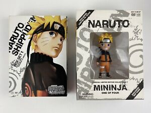 Naruto: Shippuden Box Set 1 (DVD, 2010, 3-Disc Set, Special Edition) w/ Figure