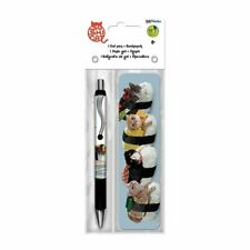 Sushi Cat Gel Pen + Bookmark Pack