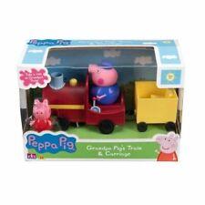 Peppa Pig Grandpa Pigs Train & Carriage Brand New & Boxed