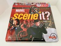 MARVEL Scene-It? Deluxe Edition 2 DVD Trivia Game Collector's Tin - New Other