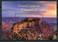 Marshall Islands 2018 MNH Grand Canyon Centennial 1v S/S Mountains Stamps