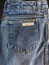 Women's CALVIN KLEIN Jeans High Waist Denim MOM USA Made Tag sz 16 (30W 31L) VTG