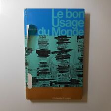 Claude ROY 1964 Le bon Usage du Monde L'Atlas des voyages Essai Rencontre N7691