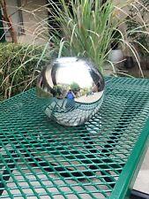 Christofle Uni Metallized Glass Vase Med Size