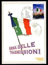 Italy 1999: Weapon Transmissions-Official Postcard Post it.