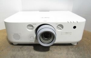 NEC NP-PA571W WXGA 3LCD Projector 5700 Lumens 1675 Lamp Hours & NP13ZL Zoom Lens
