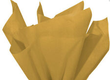 100 Sheets Antique Gold Gift Wrap Pom Pom Tissue Paper 15x20
