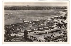 Berlin Airport - Real Photo Postcard c1950s / Air Show