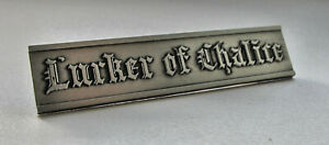 LURKER OF CHALICE - Official Metal Pin /Leviathan Xasthur Blut aus Nord Wormlust