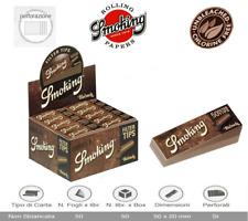 Smoking Brown Filtri In Carta Marrone Filtro Non Sbiancata  25 / 50 Blocchetti