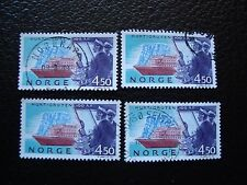 NORVEGE - timbre yvert et tellier n° 1085 x4 obl (A04) stamp norway (E)